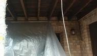 Нижнее перекрытие балкона