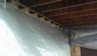 Нижнее перекрытие балкона под утепление пенополиуретаном