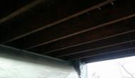 Нижнее перекрытие балкона под утепление ППУ