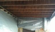 Нижнее перекрытие балкона под утепление