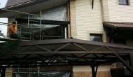 Утепление ППУ балкона - часный дом