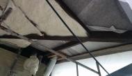 Верхнее перекрытие балкона, утепляем пенополиуретаном