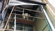 Верхнее перекрытие (кровля) балкона