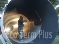 Напыление полимочевины на трубы