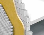 Теплоизоляция наружной стены с двойной кладкой с помощью пенополиуретана
