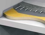 Теплоизоляция пенополиуретаном бетонного межэтажного перекрытия, с отапливаемыми полами