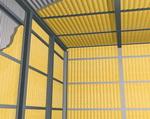 Внутренняя теплоизоляция пенополиуретаном промышленных и сельскохозяйственных зданий